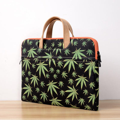 Tropical Print Laptop Bag - BagPrime - Look Your Best with Amazing Bags