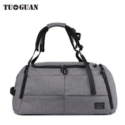 TUGUAN Backpack Travel Bag-bag-bagprime-Black-BagPrime - Global Prime Bag Fashion Platform