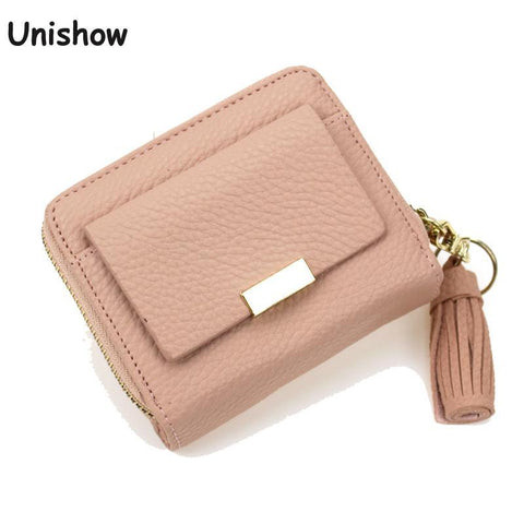 UNISHOW Small Wallet with Tassel - BagPrime - Look Your Best with Amazing Bags