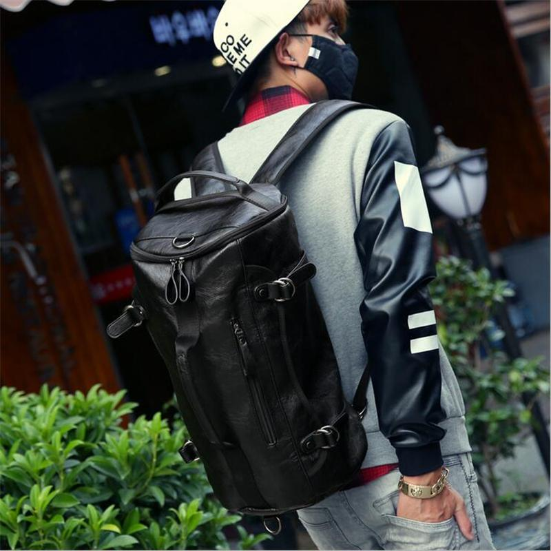 Utilitarian Leather Backpack-bag-bagprime-BagPrime - Global Prime Bag Fashion Platform