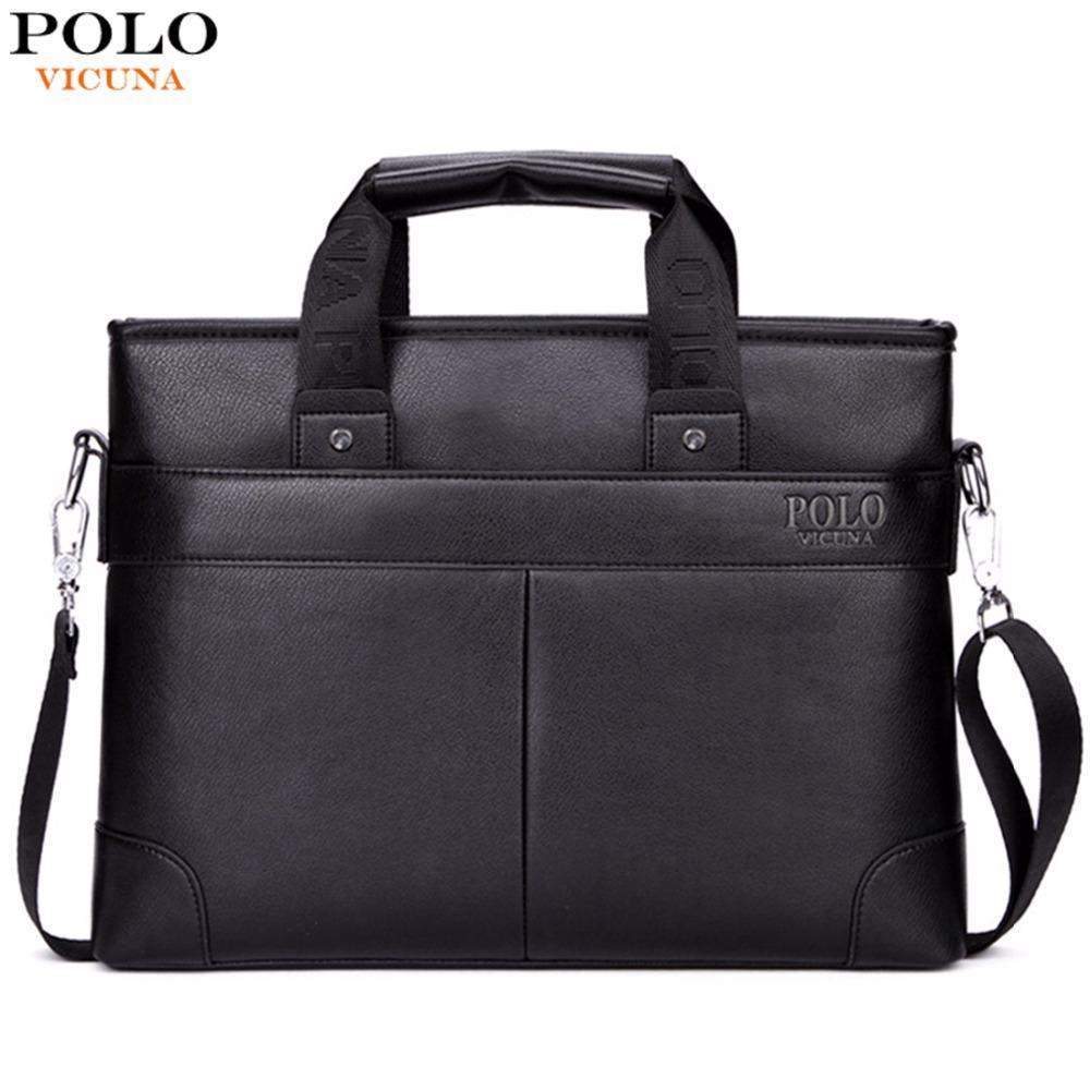 VICUNA POLO Classic Business Bag - BagPrime - Look Your Best with Amazing Bags
