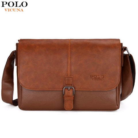 VICUNA POLO Classic Messenger Bag - BagPrime - Look Your Best with Amazing Bags