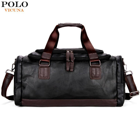 VICUNA POLO Edgy Duffel Bag - BagPrime - Look Your Best with Amazing Bags 6fbcc4419e
