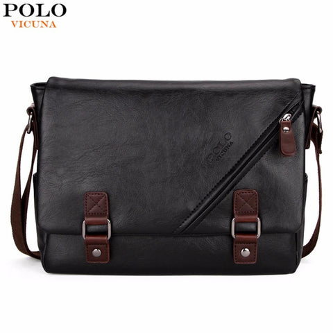 VICUNA POLO Edgy Messenger Bag - BagPrime - Look Your Best with Amazing Bags