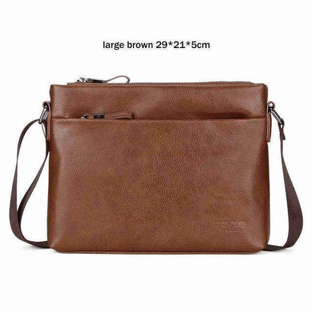 VICUNA POLO Leather Crossbody Bag - BagPrime - Look Your Best with Amazing Bags