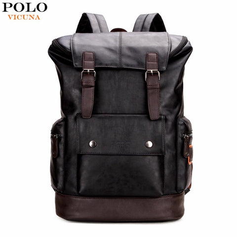 VICUNA POLO Modern Travel Backpack-bag-bagprime-Black-China-BagPrime - Global Prime Bag Fashion Platform