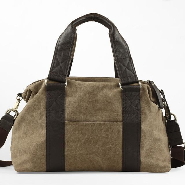 Vintage Duffel Bag - BagPrime - Look Your Best with Amazing Bags
