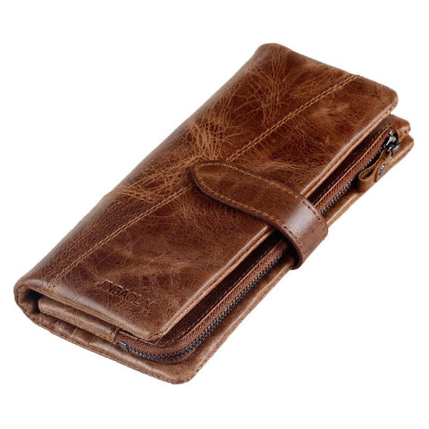 Vintage Leather Wallet - BagPrime - Look Your Best with Amazing Bags