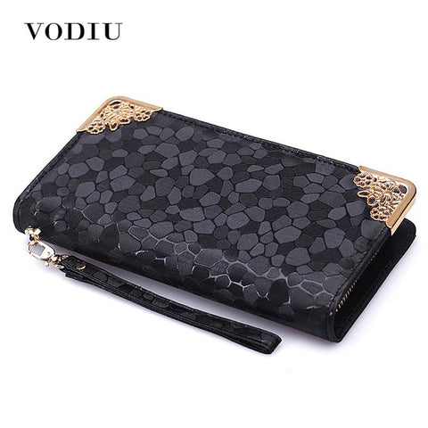 VODIU Cobbled Wrist Wallet - BagPrime - Look Your Best with Amazing Bags