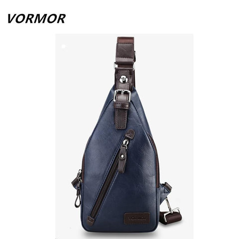 VORMOR Cool Chest Bag-bag-bagprime-Black-China-BagPrime - Global Prime Bag Fashion Platform