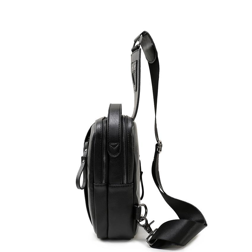 VORMOR Edgy Chest Bag-bag-bagprime-Black-China-BagPrime - Global Prime Bag Fashion Platform