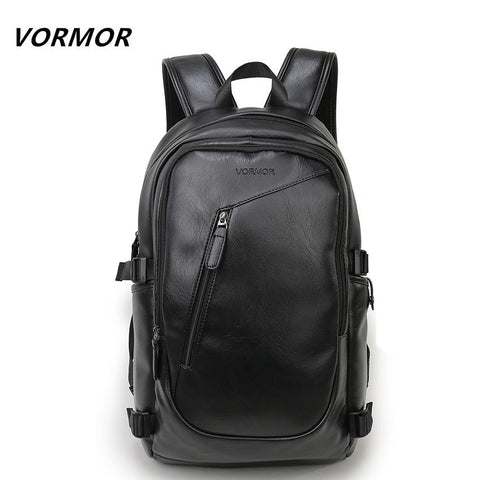VORMOR Edgy Urban Backpack-bag-BagPrime - Global Prime Bag Fashion Platform-Black-China-15 Inches-BagPrime - Global Prime Bag Fashion Platform