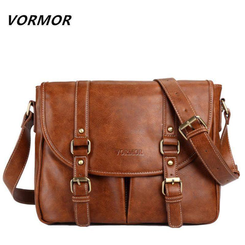 VORMOR Vintage Messenger Bag - BagPrime - Look Your Best with Amazing Bags