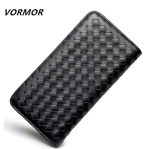 VORMOR Woven Design Wallet - BagPrime - Look Your Best with Amazing Bags
