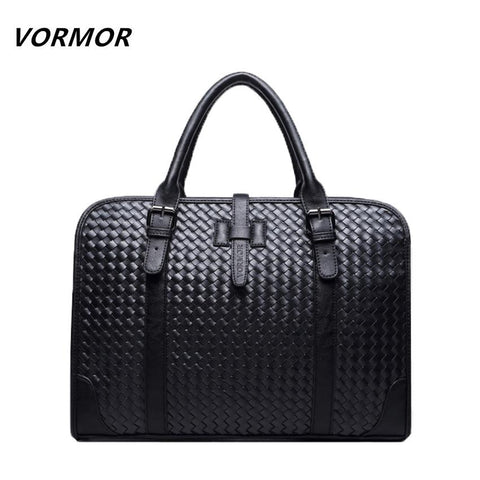 VORMOR Woven Laptop Bag - BagPrime - Look Your Best with Amazing Bags