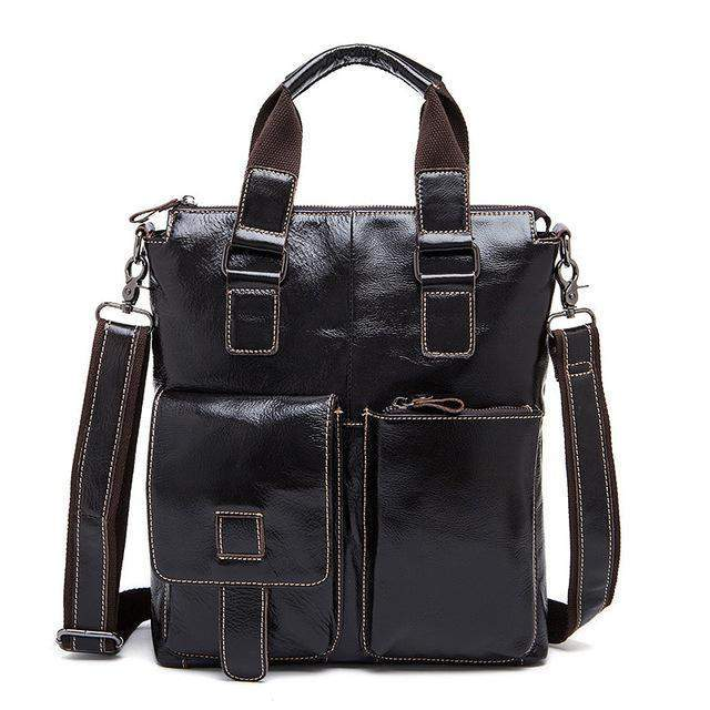 WESTAL Genuine Leather Crossbody Business Bag - BagPrime - Look Your Best with Amazing Bags