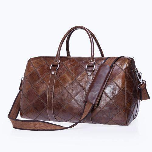 WESTAL Genuine Leather Duffel Bag - BagPrime - Look Your Best with Amazing Bags