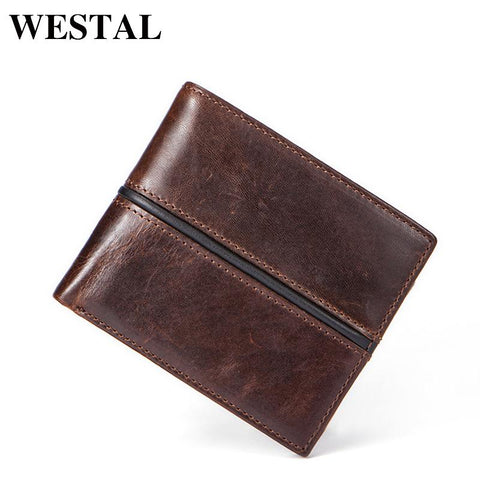 WESTAL Genuine Leather Wallet - BagPrime - Look Your Best with Amazing Bags