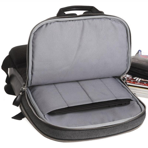 WIWU Modern Backpack-bag-bagprime-Dark Grey-14.1-inch-BagPrime - Global Prime Bag Fashion Platform