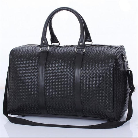 Woven Style Duffel Bag - BagPrime - Look Your Best with Amazing Bags