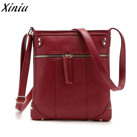 XINIU Front Zipper Crossbody Bag - BagPrime - Look Your Best with Amazing Bags
