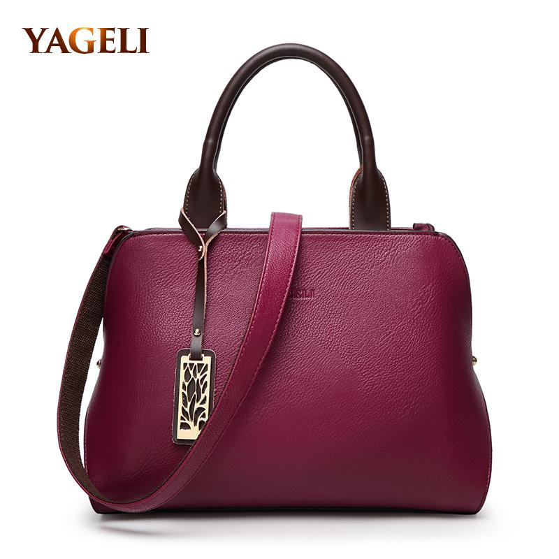 YAGELI Classy Satchel Bag - BagPrime - Look Your Best with Amazing Bags