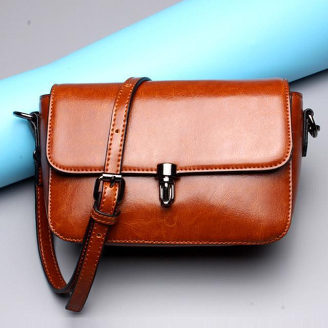 YAGELI Modern Edgy Messenger Bag