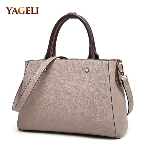 YAGELI Modern Satchel Bag - BagPrime - Look Your Best with Amazing Bags