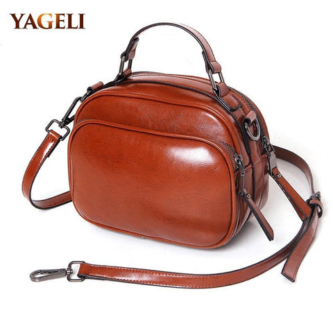 YAGELI Rounded Handbag - BagPrime - Look Your Best with Amazing Bags
