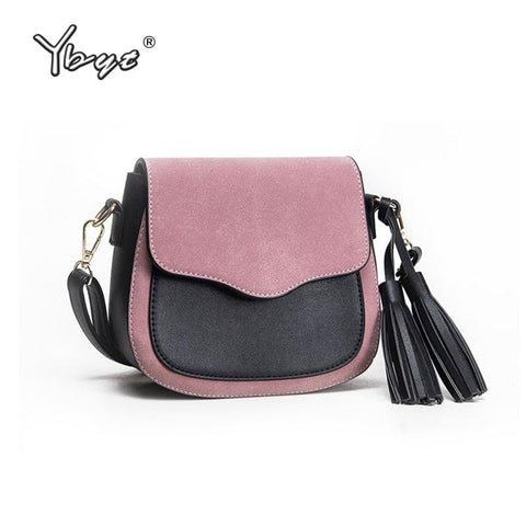 YBYT Eclectic Messenger Bag with Tassel - BagPrime - Look Your Best with Amazing Bags