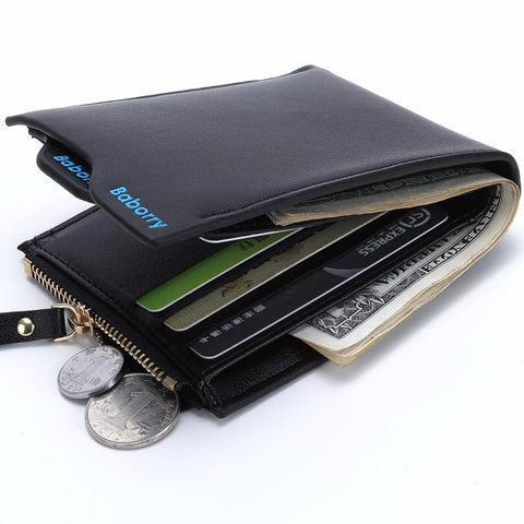Zipped Leather Wallet - BagPrime - Look Your Best with Amazing Bags