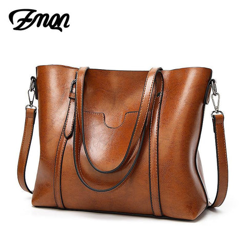 ZMQN Leather Tote Bag - BagPrime - Look Your Best with Amazing Bags