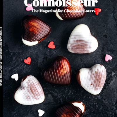 Chocolate Connoisseur Magazine Covers COCO's Love Is Simple