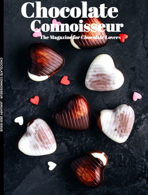 Chocolate Connoisseur Magazine Covers COCO's Love Is Simple Feb 20