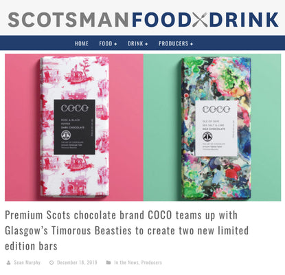 Scotsman Food & Drink: COCO x Timorous Beasties Dec 19
