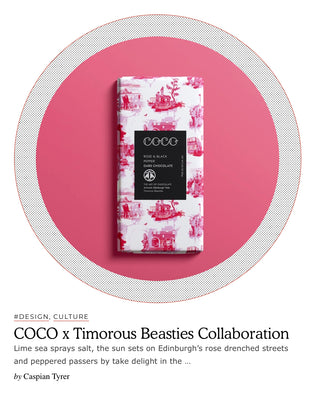 Cent Magazine covers COCO Chocolatier x Timorous Beasties Feb 20