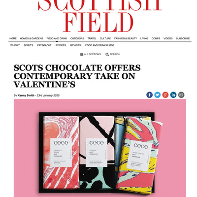 Scottish Field - Say it with chocolate