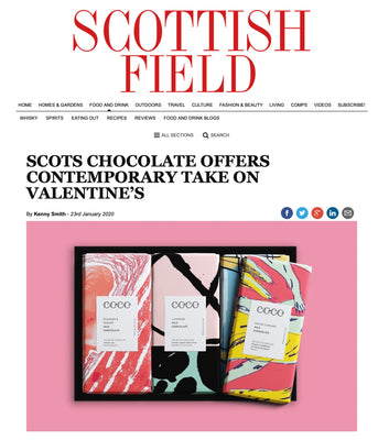 Scottish Field - Say it with chocolate Jan 20
