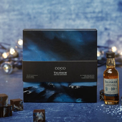 COCO x Talisker Sea Salted Caramel Gift Set