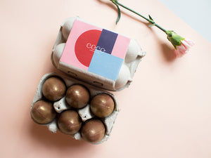 Golden Goose Eggs - 40% Milk Chocolate