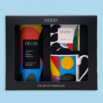 Mug & Plain Drinking Chocolate Gift Set