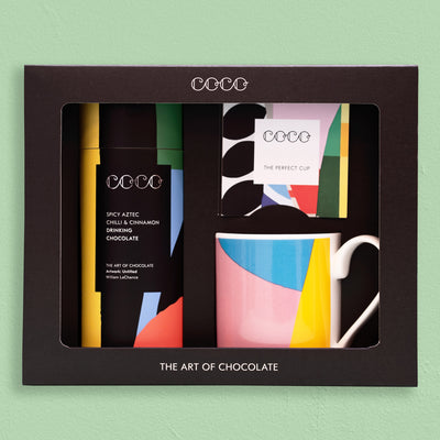 Mug & Spicy Aztec Drinking Chocolate Gift Set