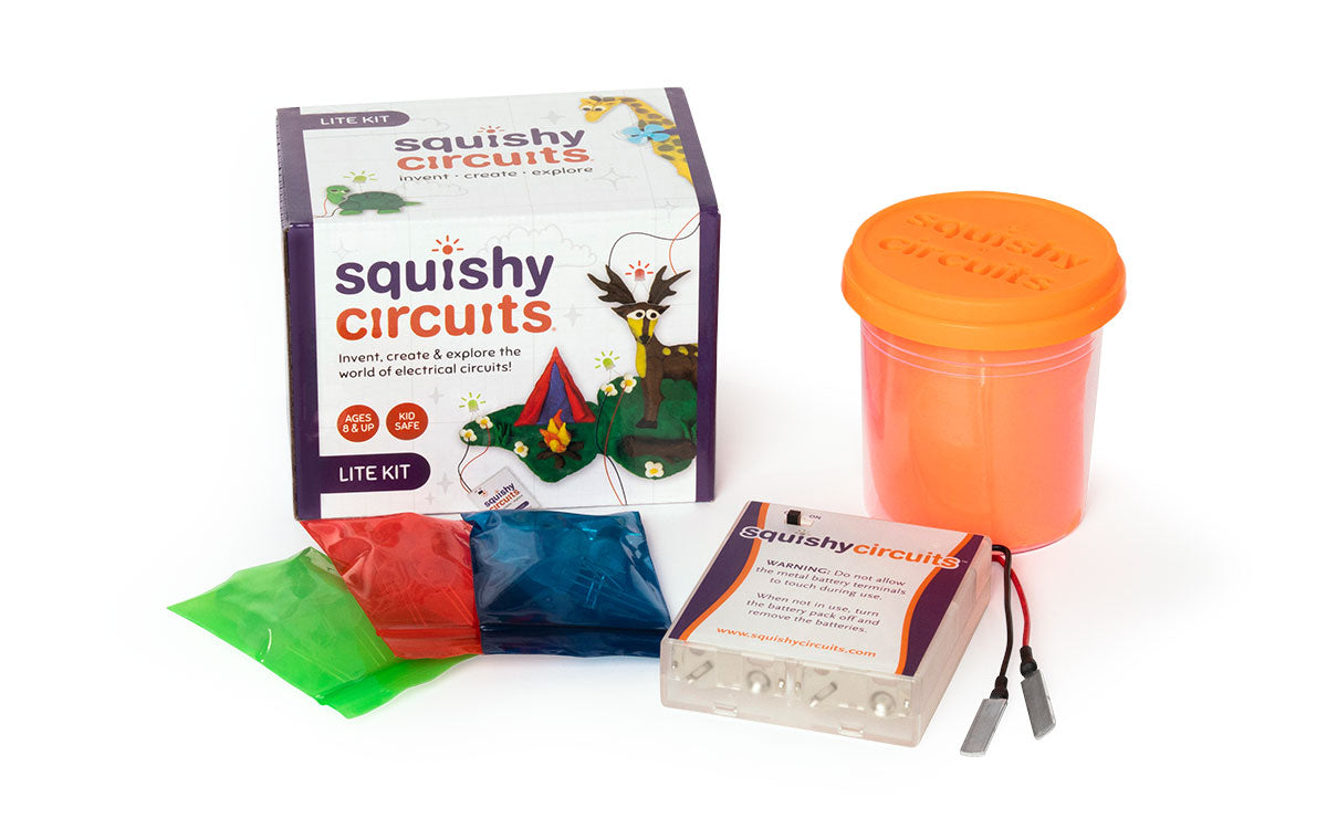 Basic Squishy Circuits Kit Lite Make Your Own Electrical Circuit School Pinterest