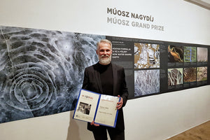 The grand prize winner on Hungarian Press Photo