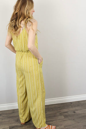 Billie -  Stripe Jumpsuit