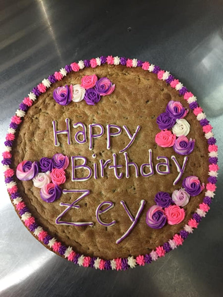 12 Inch Round Cookie Cake