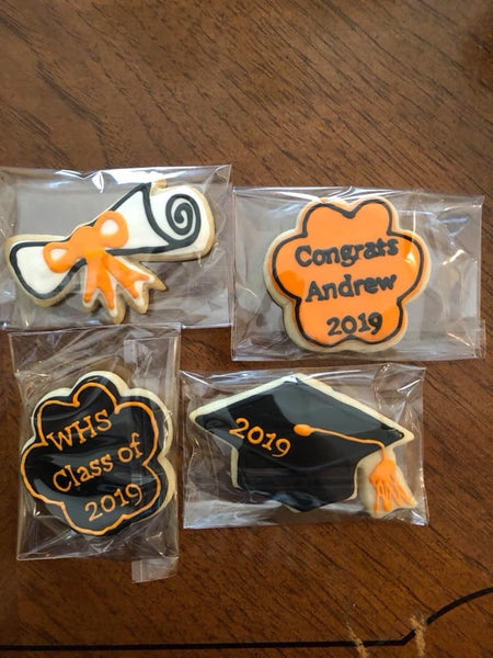 Graduation Iced Sugar CookieZ