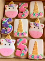 Magical Unicorn Iced Sugar CookieZ