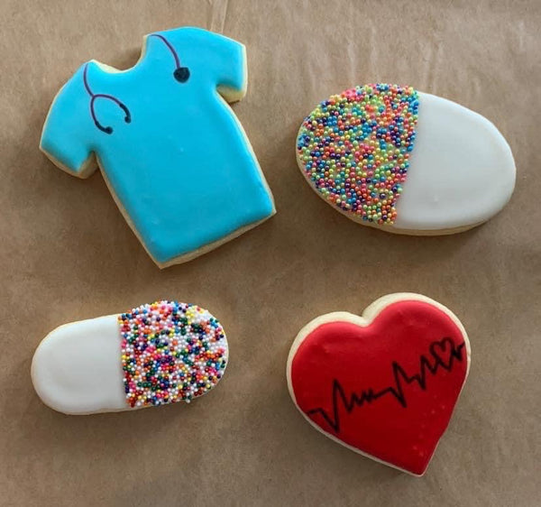Medical Themed Iced Sugar CookieZ