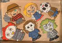 Horror Iced Sugar Cookie Set